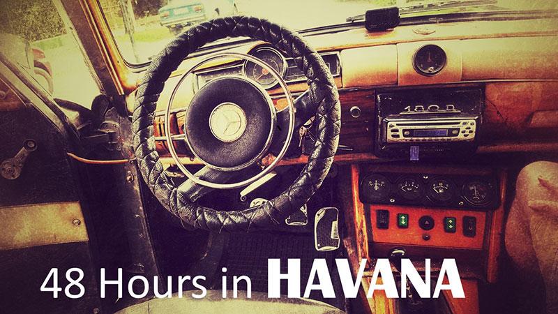 Havana Cuba Little Miss Sunray